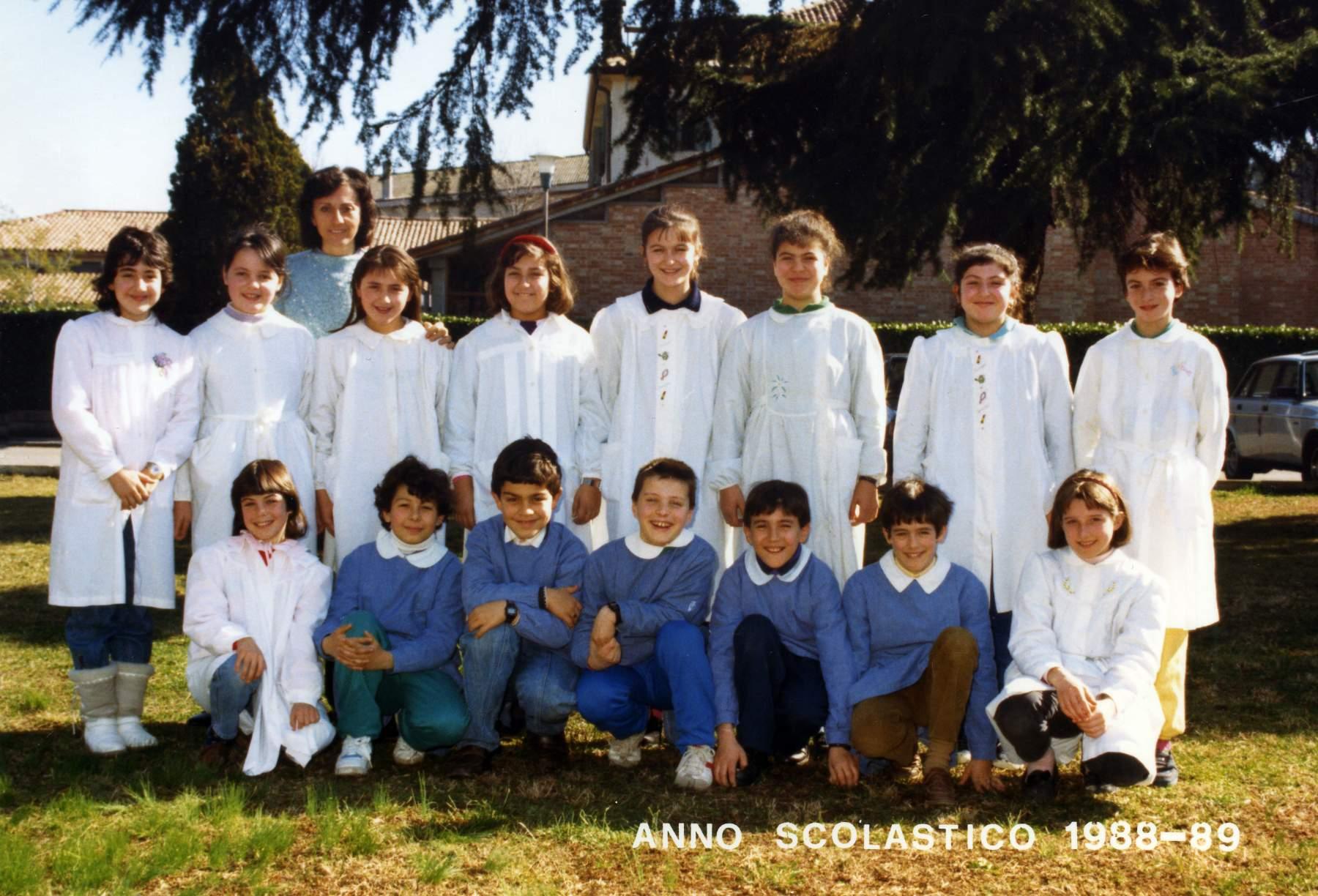Classe 1978 alle elementari for Maestra renata